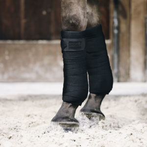 Kentucky Horsewear Repellent Work Bandages Black 1