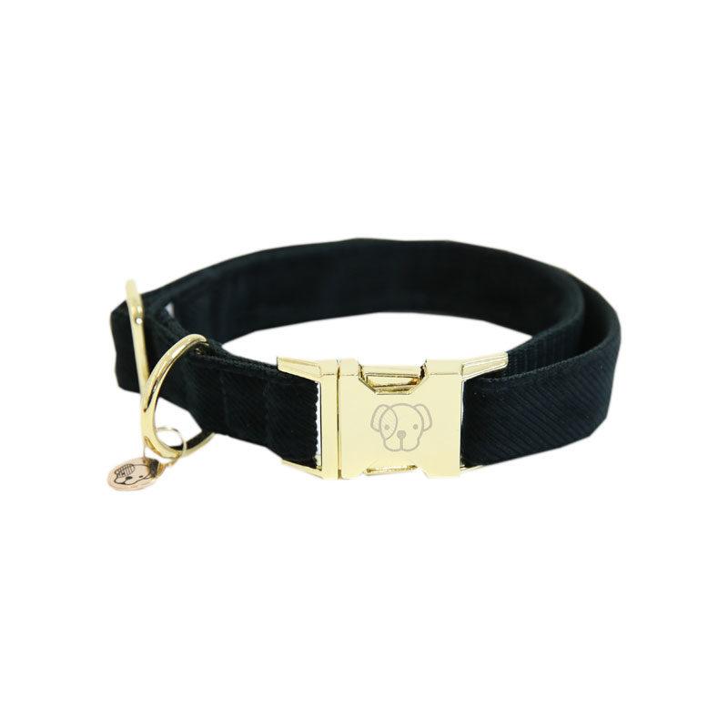 Kentucky Dogwear Corduroy Dog Collar Pine Green