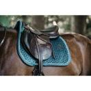 Kentucky Horsewear Velvet Saddle Pad Emerald Show Jumping 3