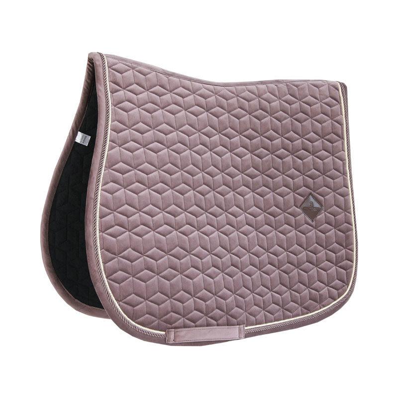 Kentucky Horsewear Velvet Saddle Pad Light Purple