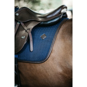 Saddle Pad Colour Edition Leather Navy