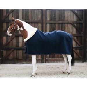 Kentucky Horsewear Heavyweight Fleece Show Rug – Navy