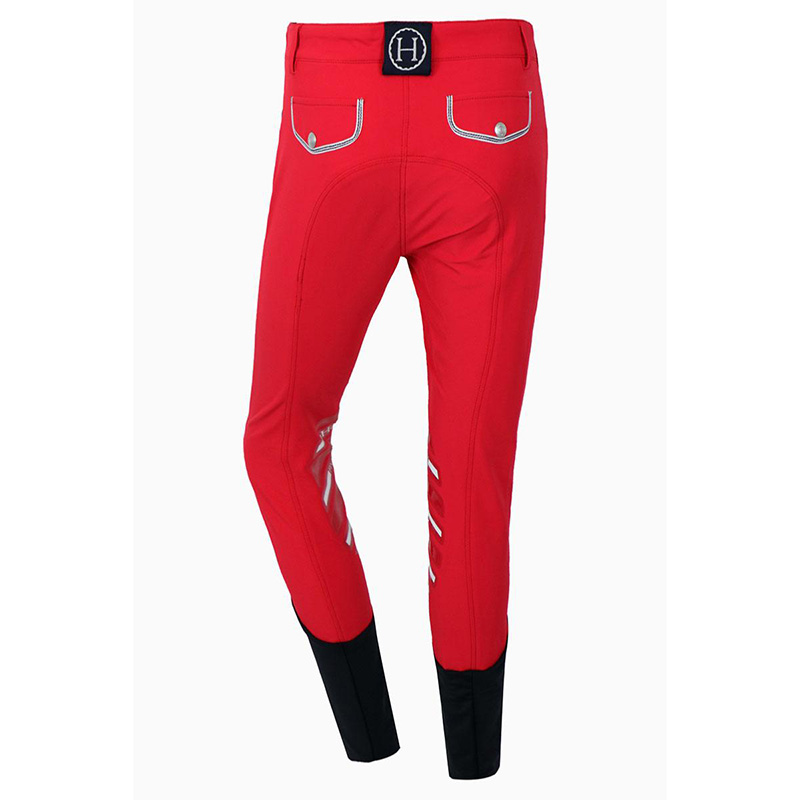 breeches MADRID red back zoom