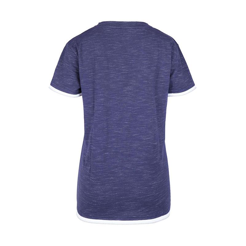 woman Tshirt HAVRE navymelange back zoom