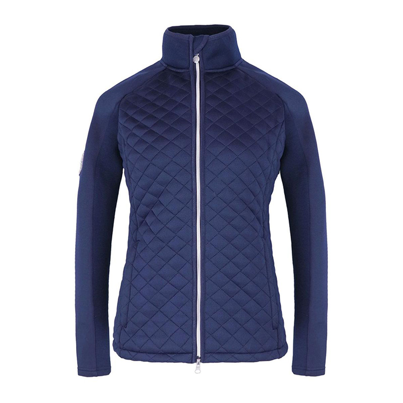 woman sweater ROYAN navy front zoom