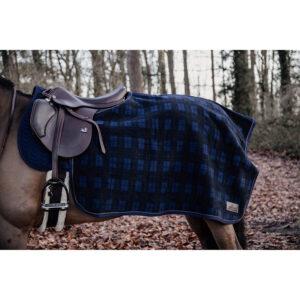 Kentucky Horsewear Heavyweight Fleece Quarter Rug - Check Print