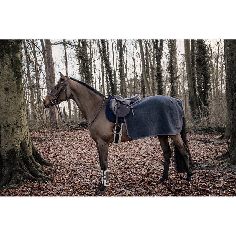 Kentucky Horsewear Heavyweight Fleece Quarter Rug - Grey