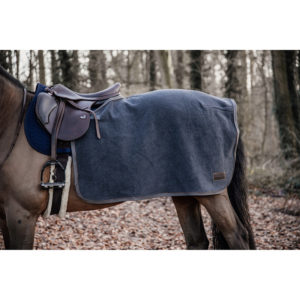 Heavyweight Fleece Quarter Rug - Grey2