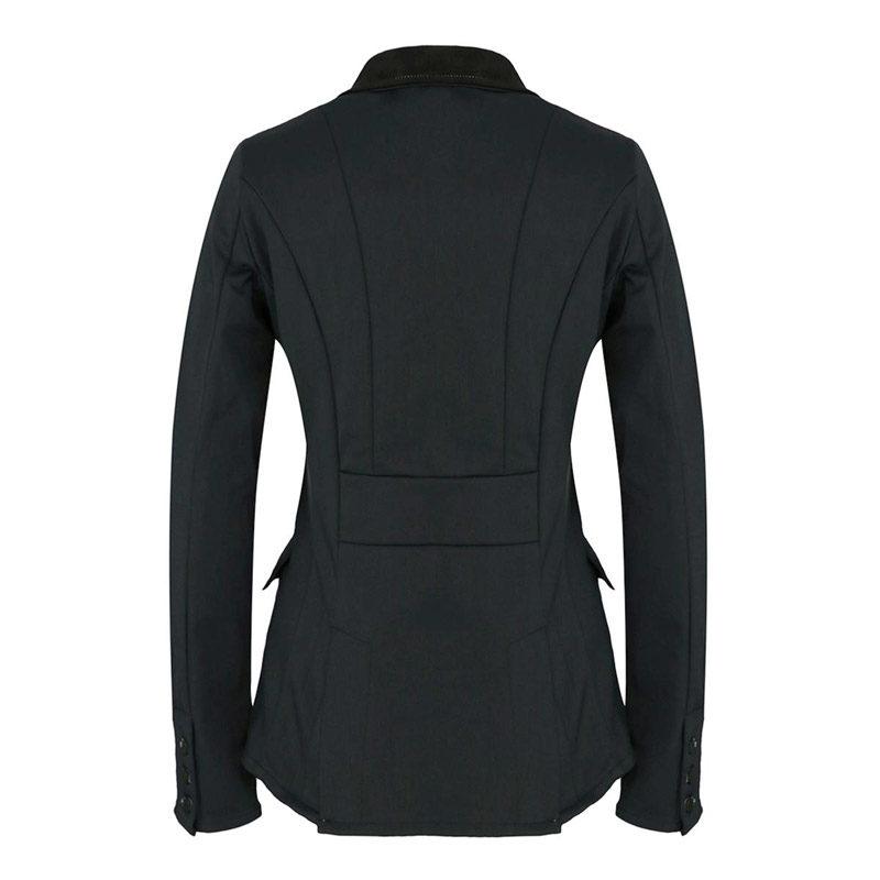 Harcour Illuna Ladies Show Jacket Black Back