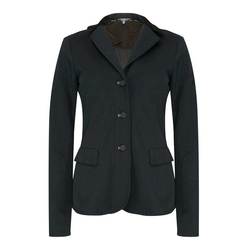 Harcour Illuna Ladies Show Jacket Black Front