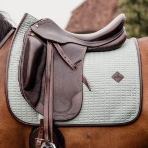 Colour Edition Leather Dressage Saddle Pad