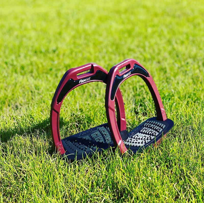 Flex-On Stirrups Bordeaux