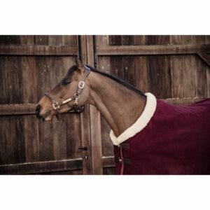 Kentucky Horsewear Heavyweight Fleece Show Rug – Bordeaux