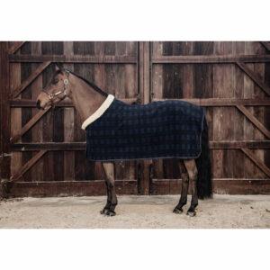 Kentucky Horsewear Heavyweight Fleece Show Rug – Check Print