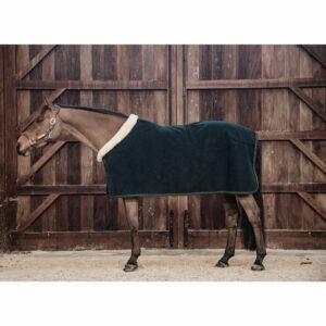 Kentucky Horsewear Heavyweight Fleece Show Rug – Pine Green