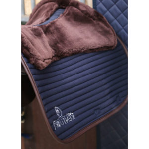 Kentucky Horsewear Skin Friendly Sheepskin Saddle Pad