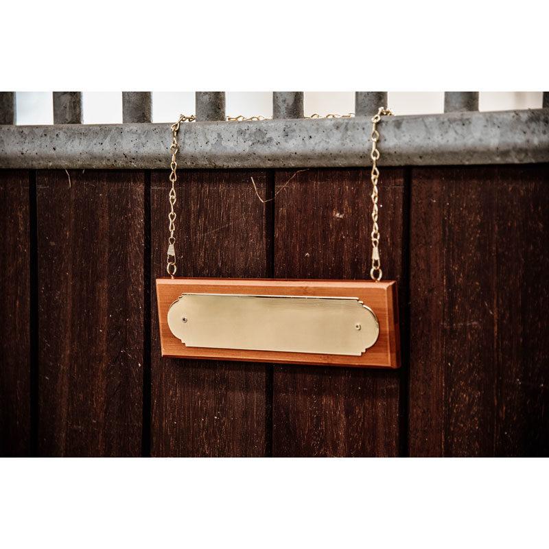 Grooming Deluxe Name Plate Hanger 3
