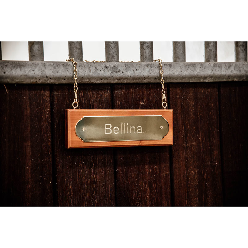 Stable Name Plate Hanger