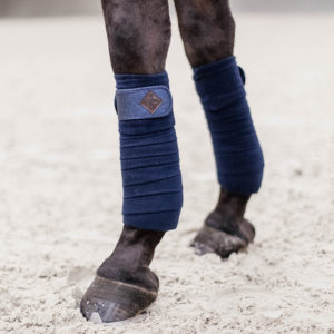 Kentucky Horsewear Polar Fleece Glitter Exercise Bandages