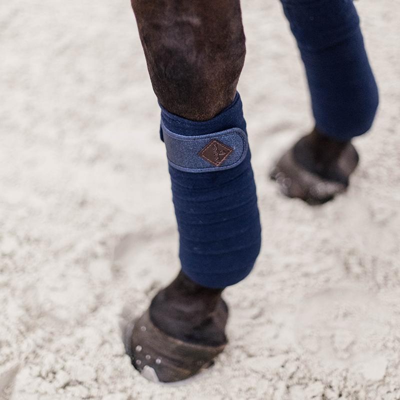 Kentucky Horsewear Polar Fleece Glitter Exercise Bandages