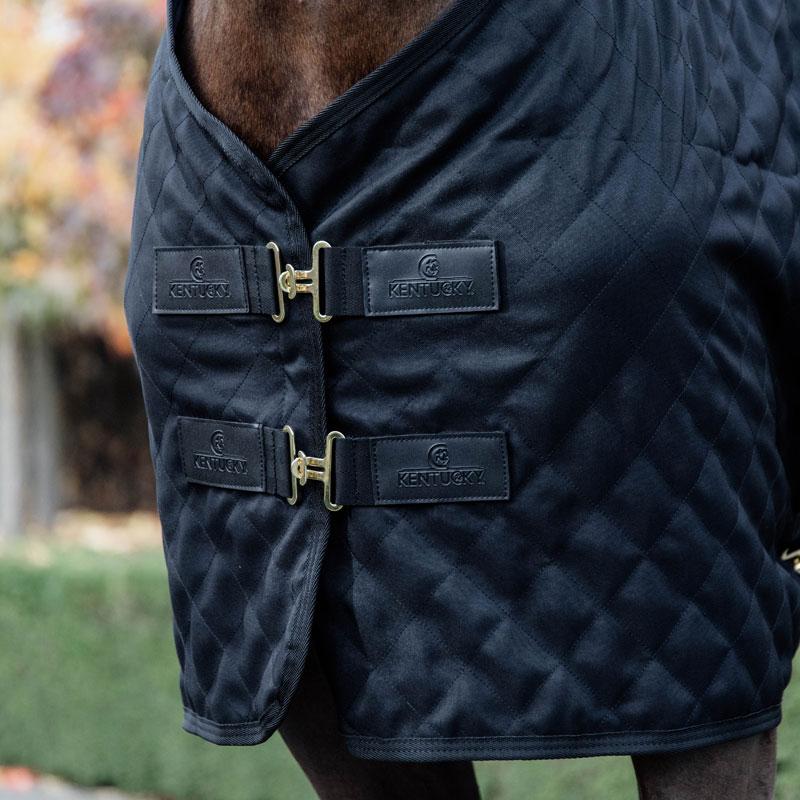 Kentucky Horsewear Lightweight Stable Rug Black 2