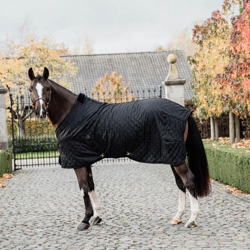 Kentucky Horsewear Lightweight Stable Rug Black 3