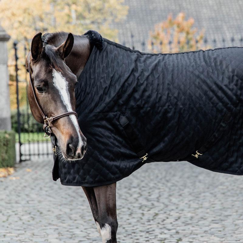 Kentucky Horsewear Lightweight Stable Rug Black 4