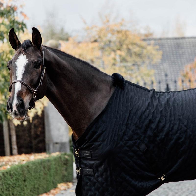 Kentucky Horsewear Lightweight Stable Rug Black 5