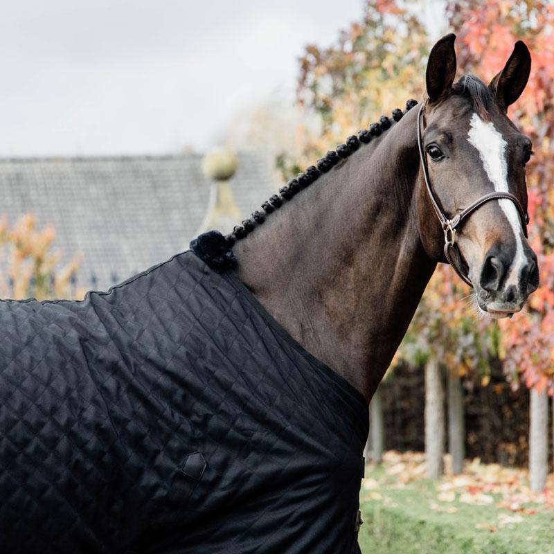 Kentucky Horsewear Lightweight Stable Rug Black