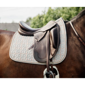Pied-de-Poule Saddle Pad Dressage