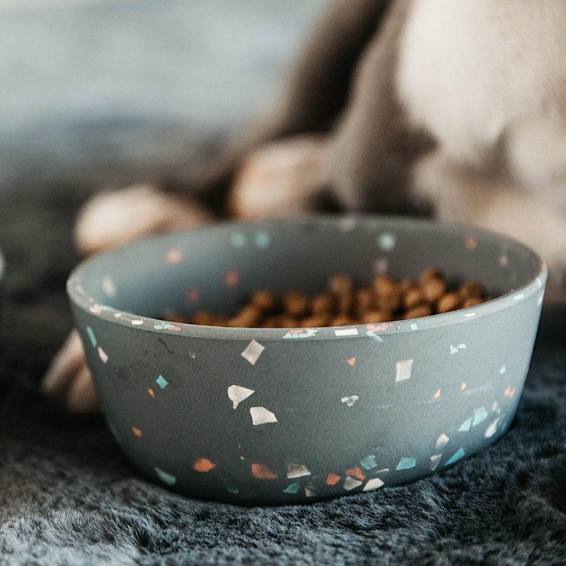 Terrazzo Dog Bowl