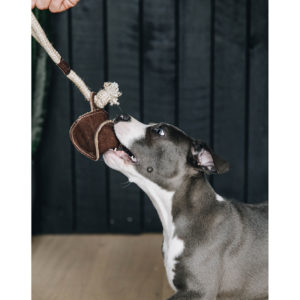 Kentucky Dogwear Dog Toy Cotton Rope Baseball