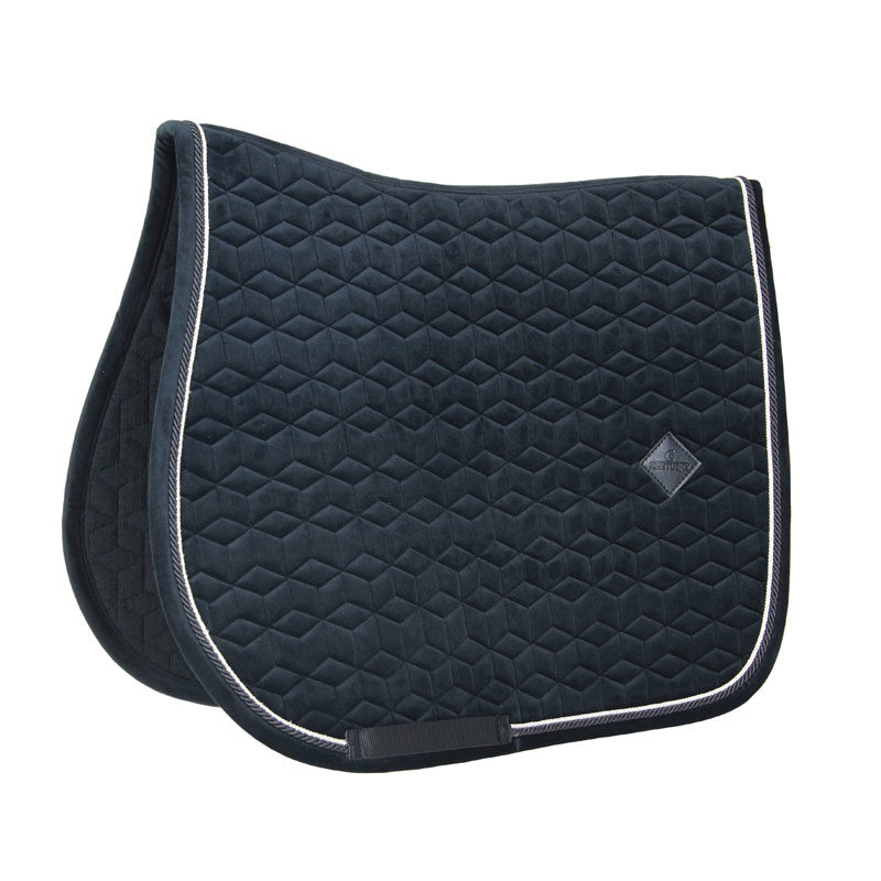 Kentucky Velvet Saddle Pad Basic Black