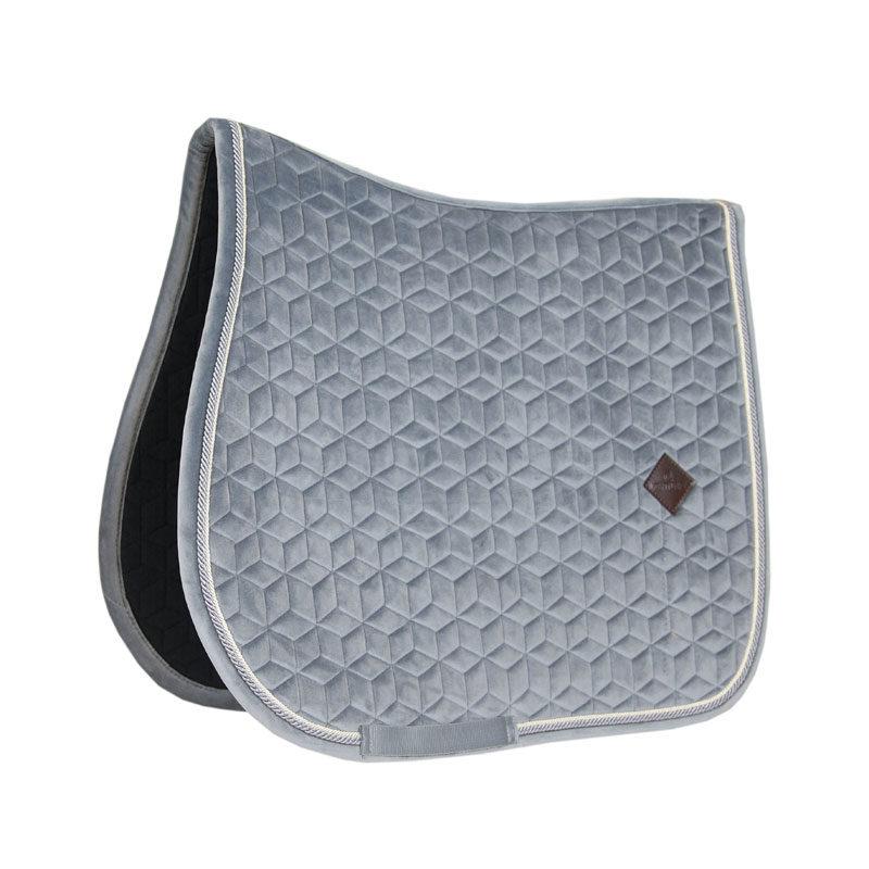 Kentucky Velvet Saddle Pad Basic Grey