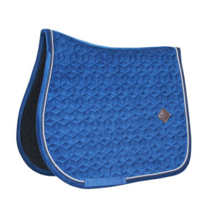 Kentucky Horsewear Velvet Saddle Pad Basic