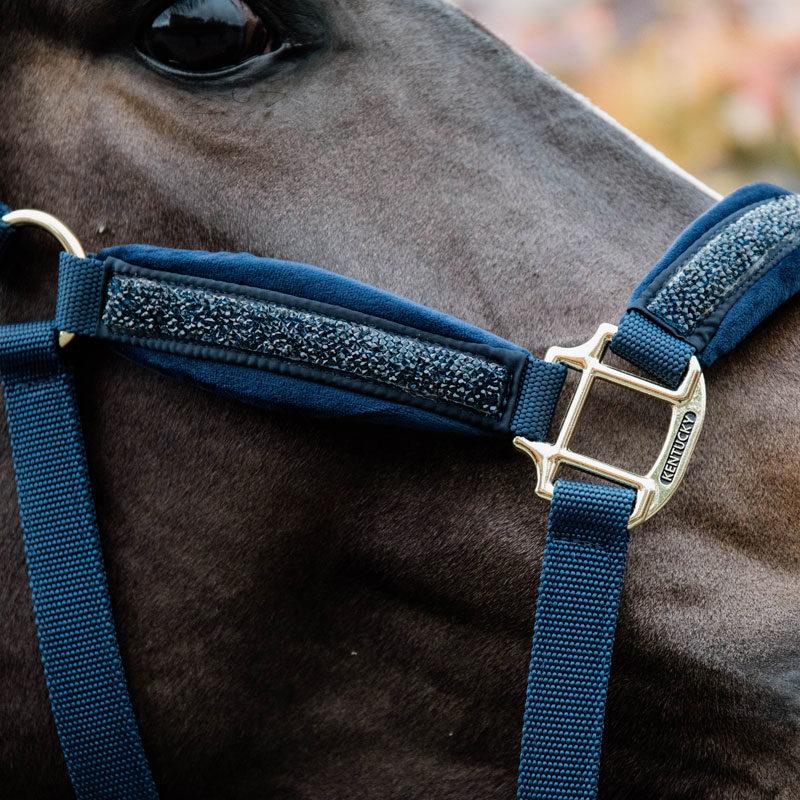 Kentucky Horsewear Glitter Stone Head Collar 1