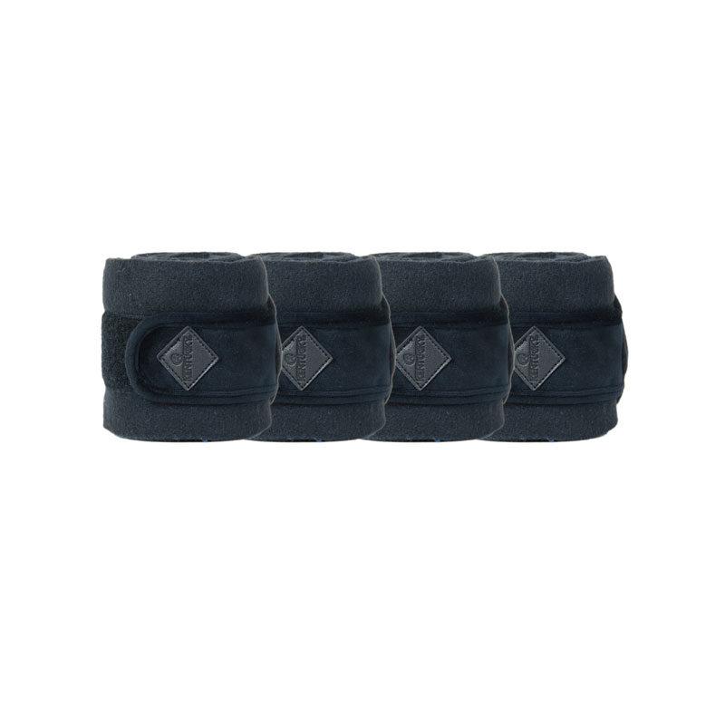 Polar Fleece Basic Velvet Bandages Black 1
