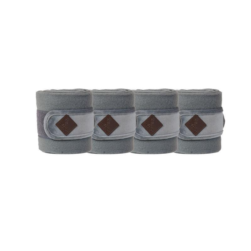 Polar Fleece Basic Velvet Bandages Grey 1