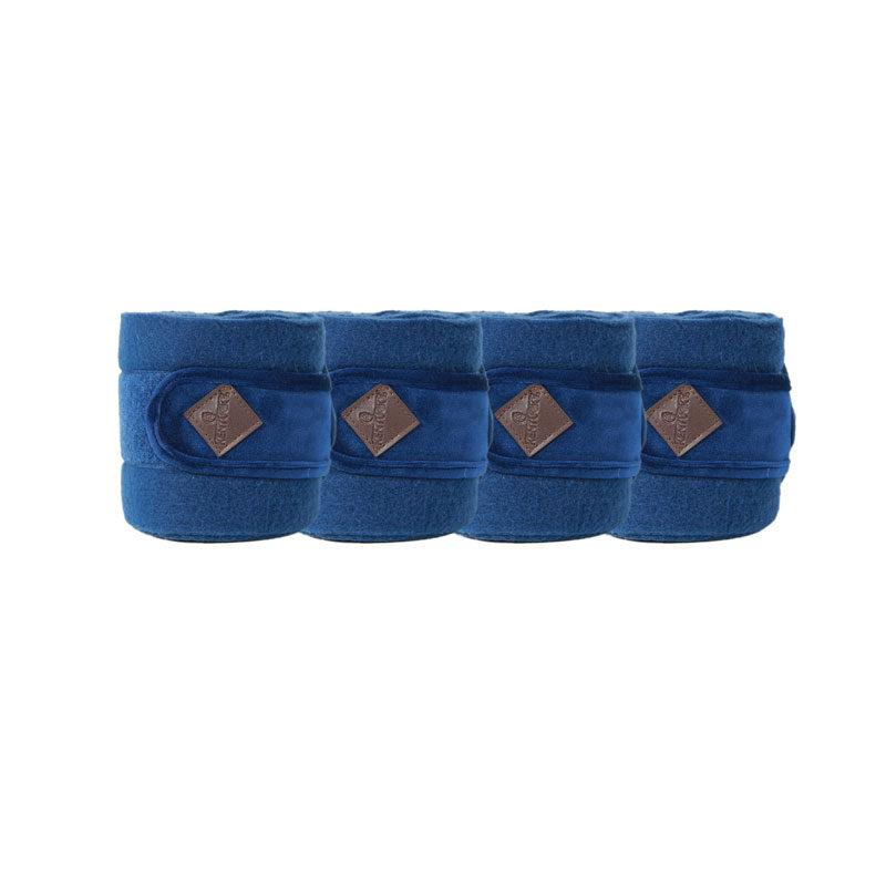 Polar Fleece Basic Velvet Bandages Navy 1