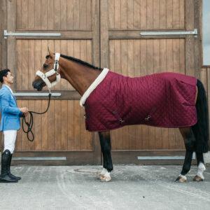 Kentucky Horsewear Bordeaux Show Rug