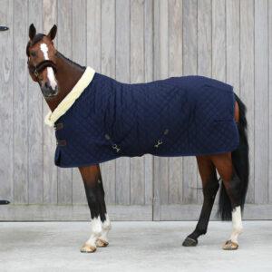 Kentucky Horsewear Show Rug Navy