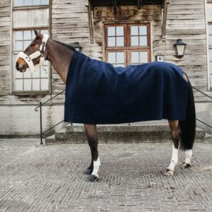 Kentucky Horsewear Heavyweight Fleece Rug Square Navy